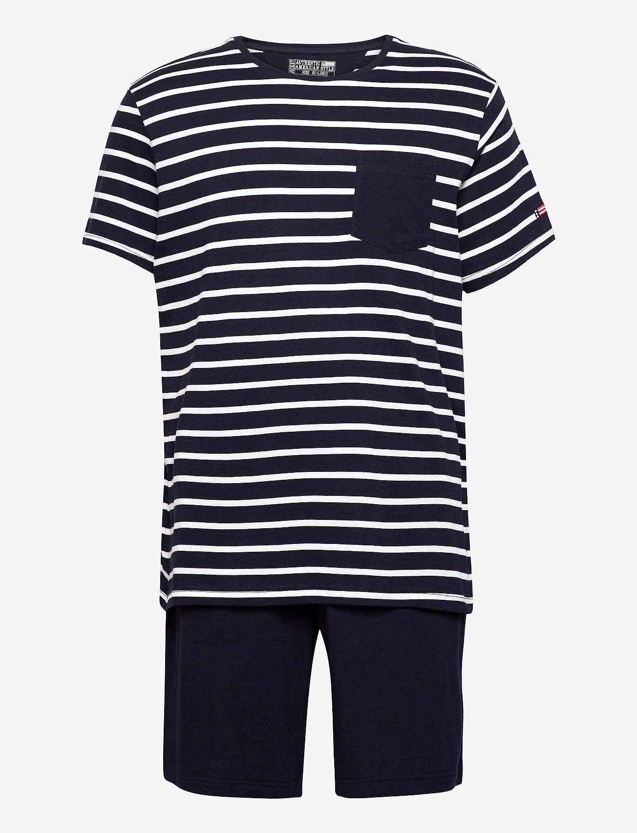 Jockey - Pyjama short knit - pyjama's - navy - 0