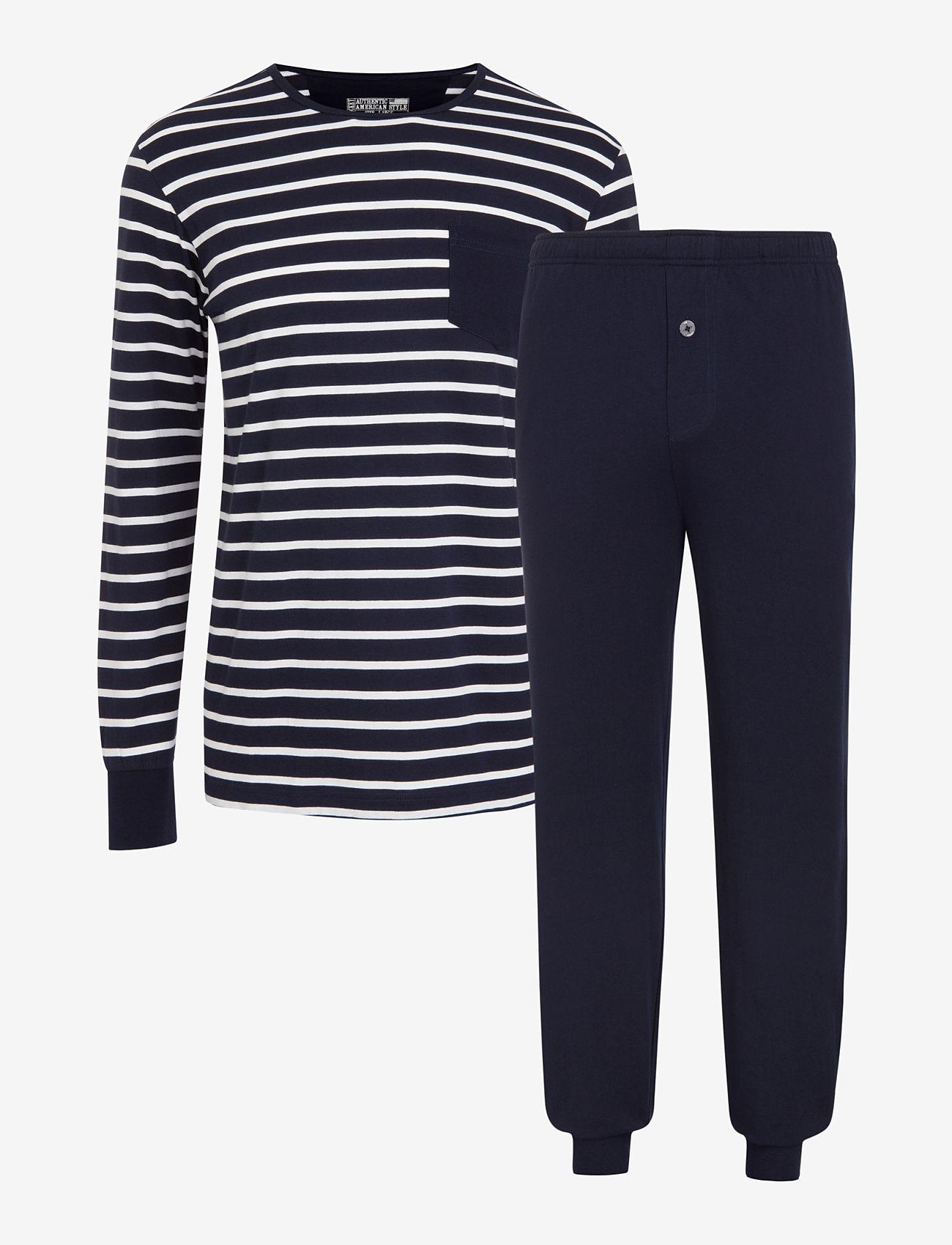 Jockey - Pyjama Knit - pyjama's - navy - 0