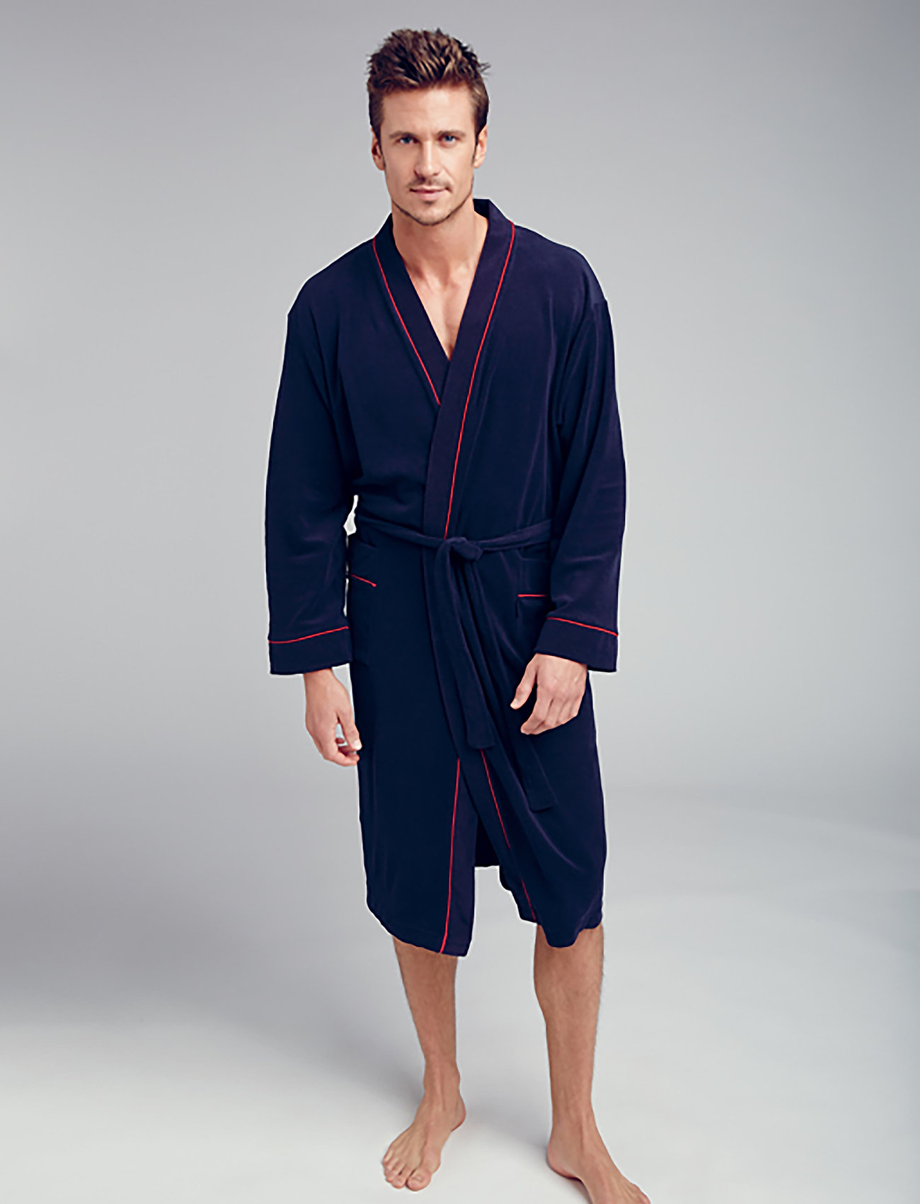 Jockey - Bath robe - badjassen - navy - 0
