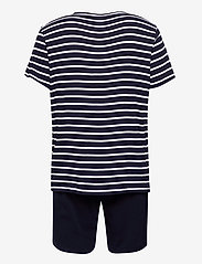 Jockey - Pyjama short knit - pyjama's - navy - 1