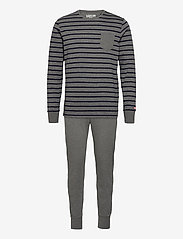 Jockey - Pyjama Knit - pyjamas - dark shadow melange - 0