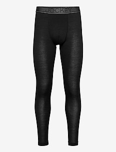 Merino Thermal Long - base layer bottoms - black