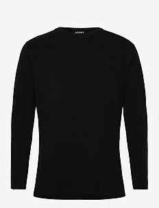Merino Thermal Longsleeve Shirt - base layer tops - black