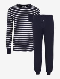 Pyjama Knit - pyjamas - navy