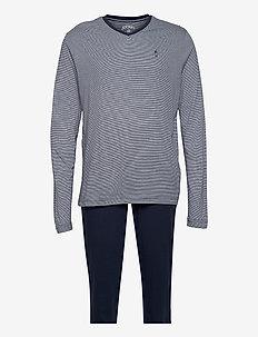 Pyjama knit - pyjamas - blue