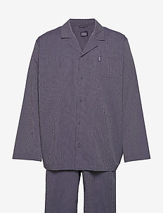 Pyjama woven - pyjama's - navy