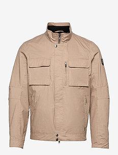 Jacob Pocket Canvas Jacket - vindjakker - beige