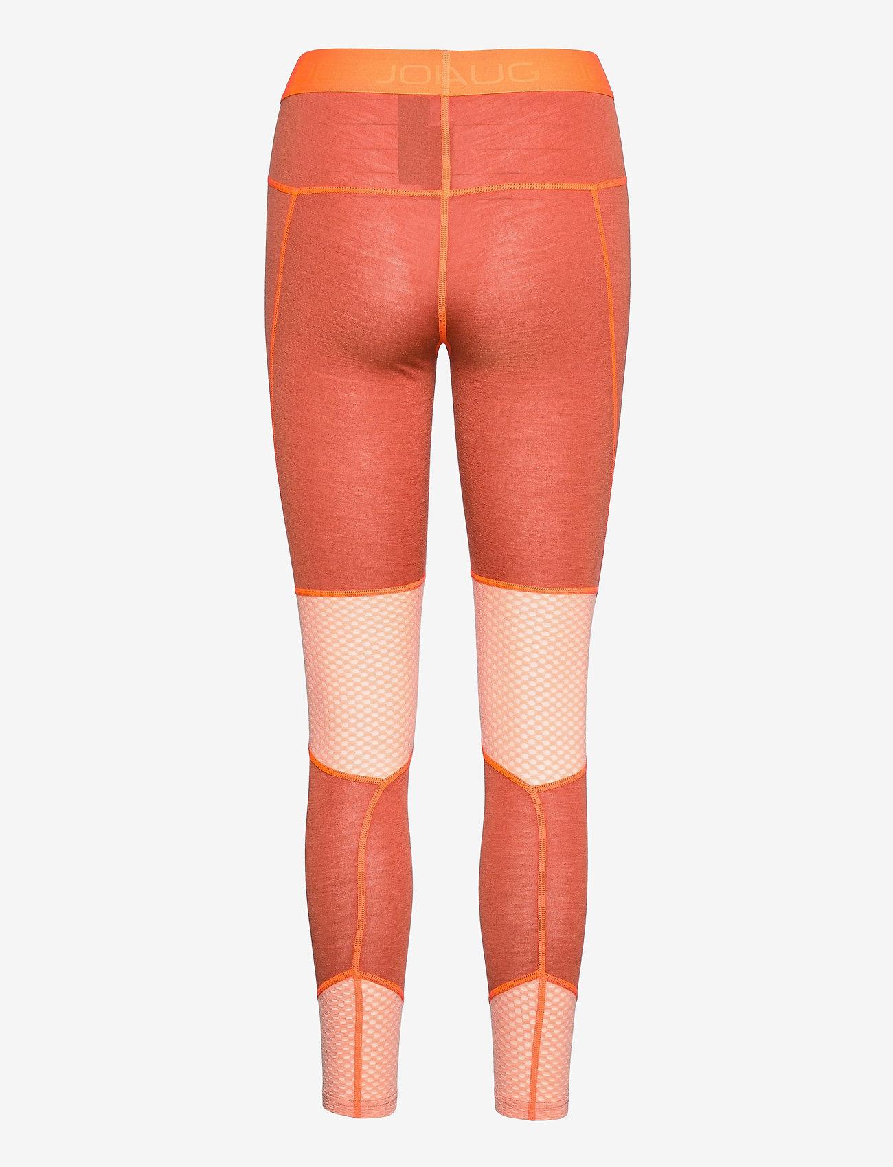 Johaug - Lithe Tech-Wool Pant - underställsbyxor - terra - 1