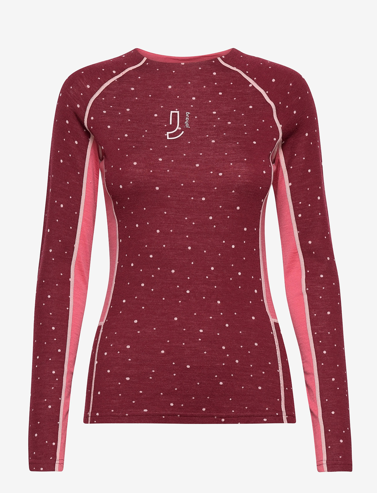 Johaug - Maven Wool Long Sleeve - base layer tops - caber - 0