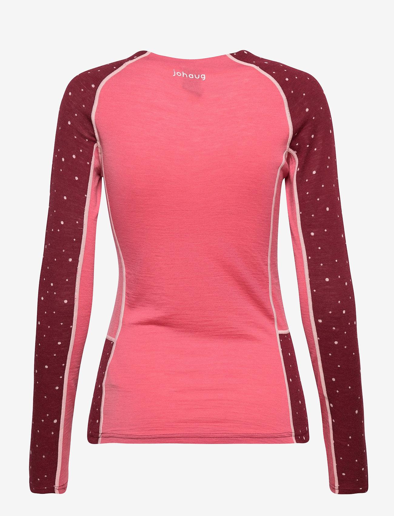 Johaug - Maven Wool Long Sleeve - base layer tops - caber - 1