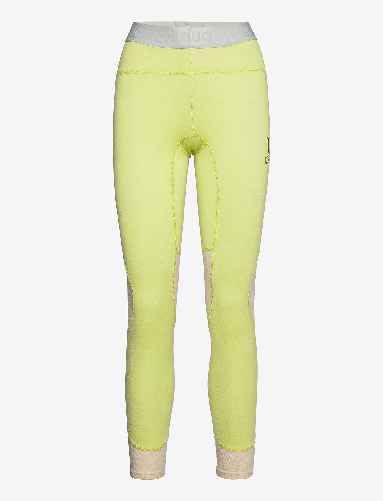Johaug - LITHE TECH-WOOL PANT - thermo onderbroeken - lime - 0