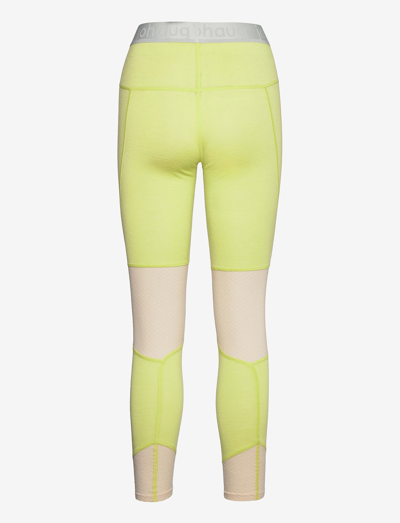 Johaug - LITHE TECH-WOOL PANT - thermo onderbroeken - lime - 1