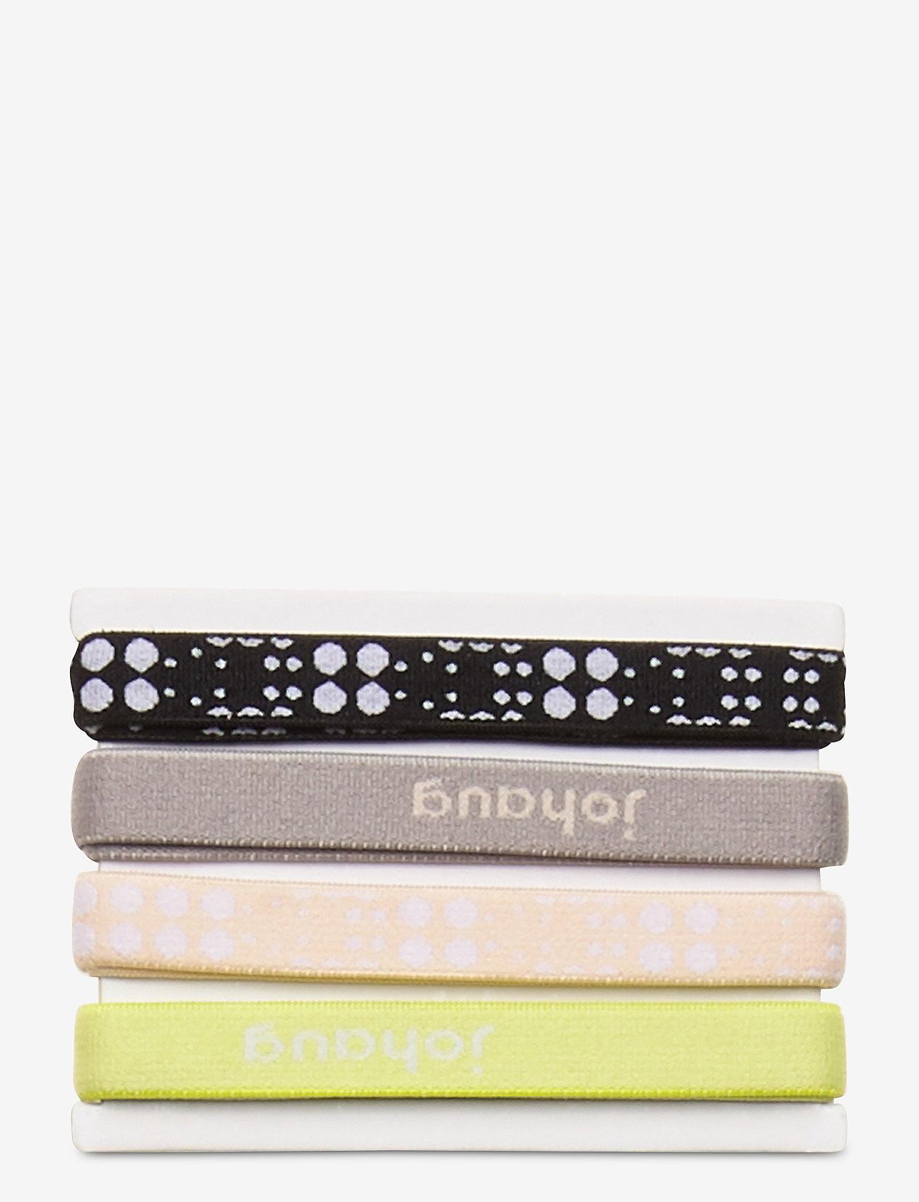 Johaug - Johaug Hair Elastic 8pk - hårband - skiss - 0