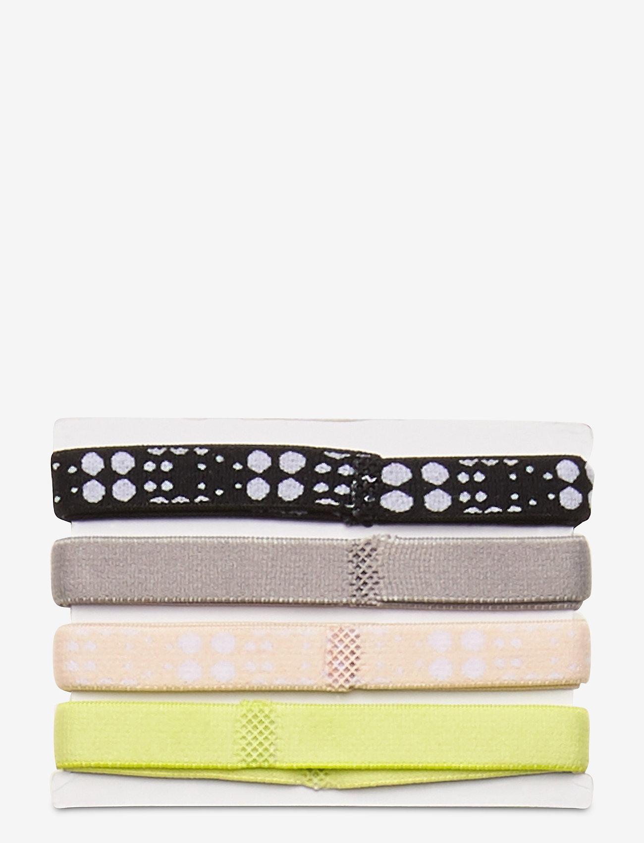 Johaug - Johaug Hair Elastic 8pk - hårband - skiss - 1