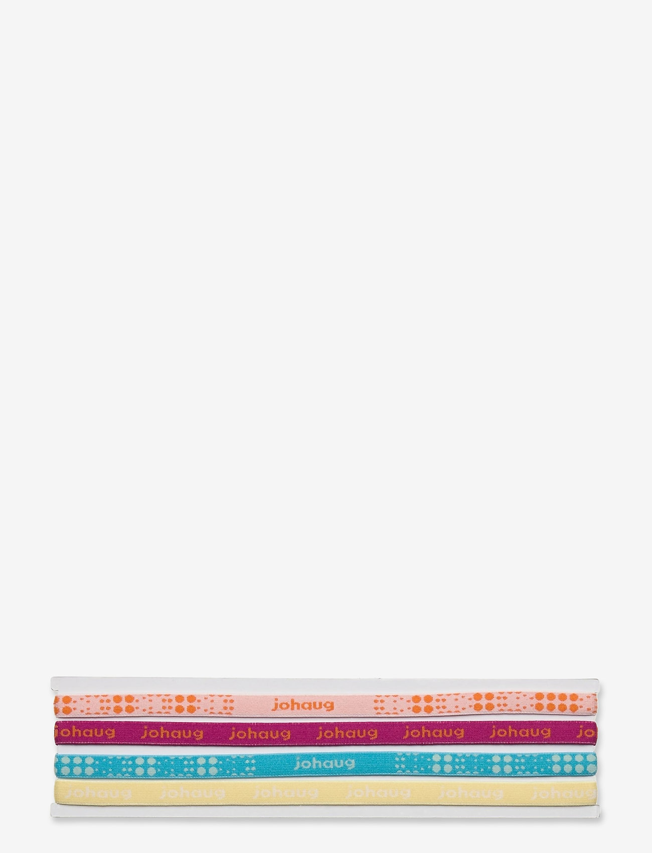 Johaug - JOHAUG HAIRBAND 4PK - hårstrikk - dusty - 0