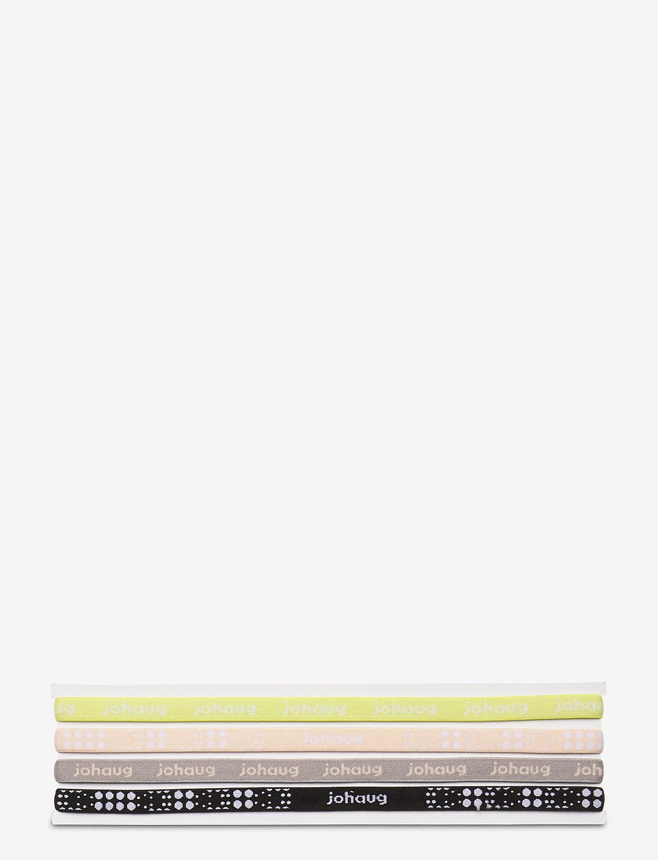 Johaug - JOHAUG HAIRBAND 4PK - hårstrikk - skiss - 0