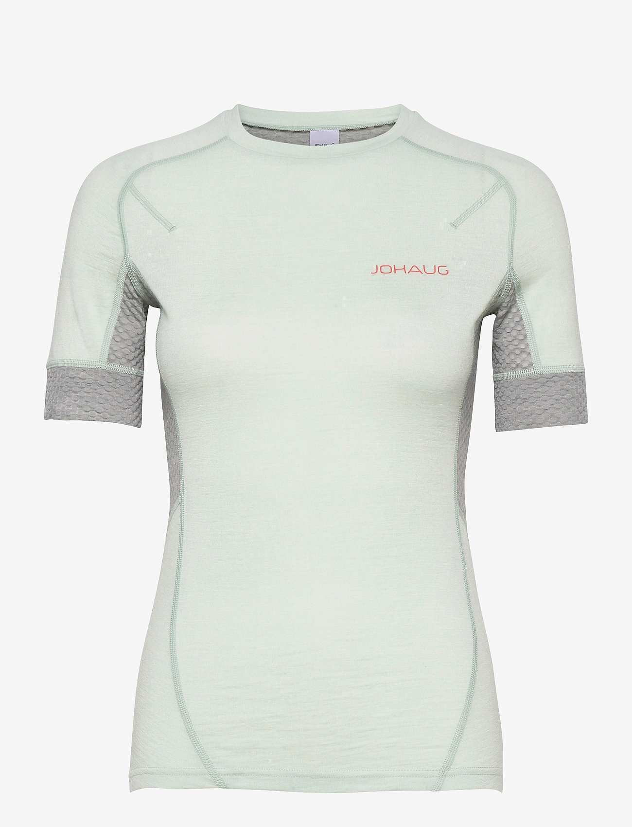 Johaug - Lithe Tech-Wool Tee - thermo ondershirts - mist - 0