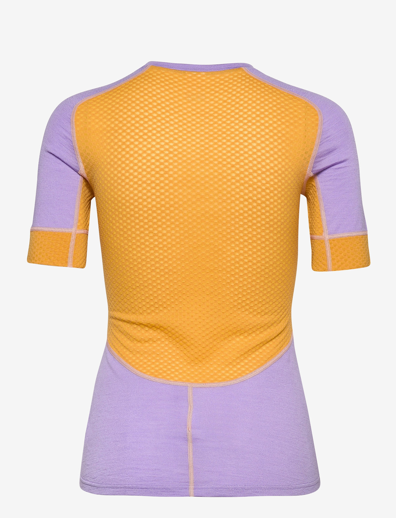Johaug - Lithe Tech-Wool Tee - thermo ondershirts - tulip - 1