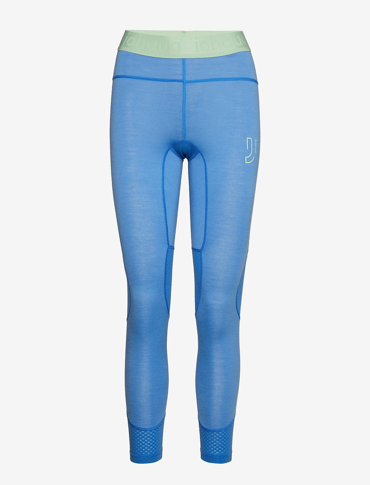 Johaug - Lithe Tech-Wool Pant - underställsbyxor - lakeb - 0