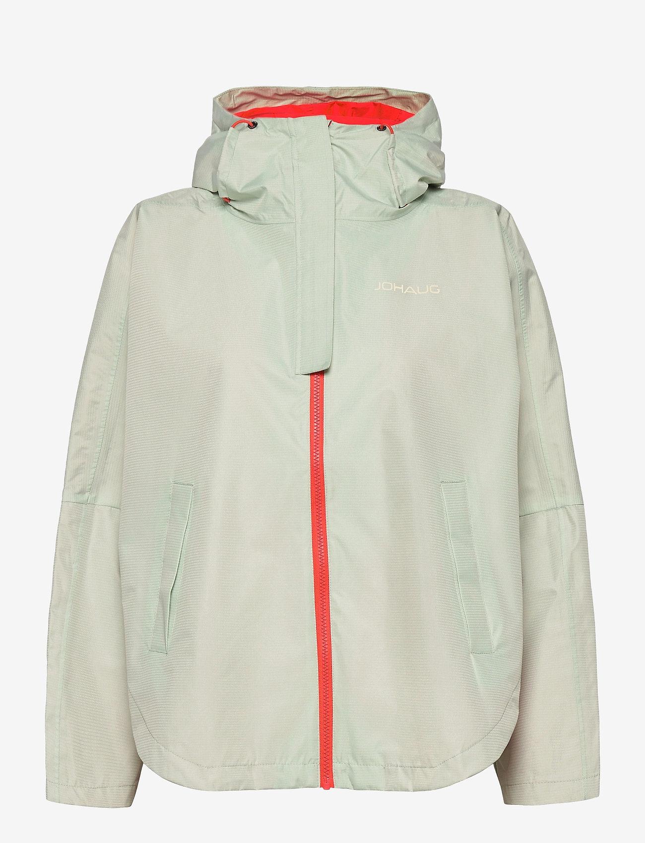 Johaug - Silhouette Poncho Jacket - friluftsjackor - mist - 0