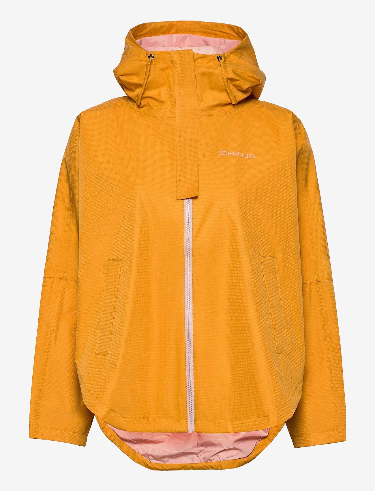 Johaug - Silhouette Poncho Jacket - friluftsjackor - sunfl - 0