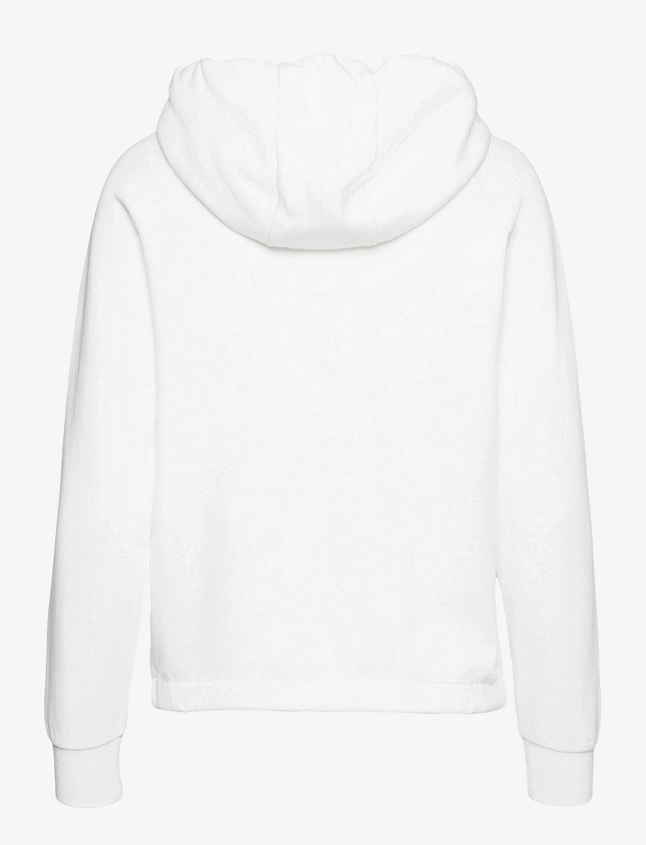 Johaug - Unaltered Hood - huvtröjor - white - 1