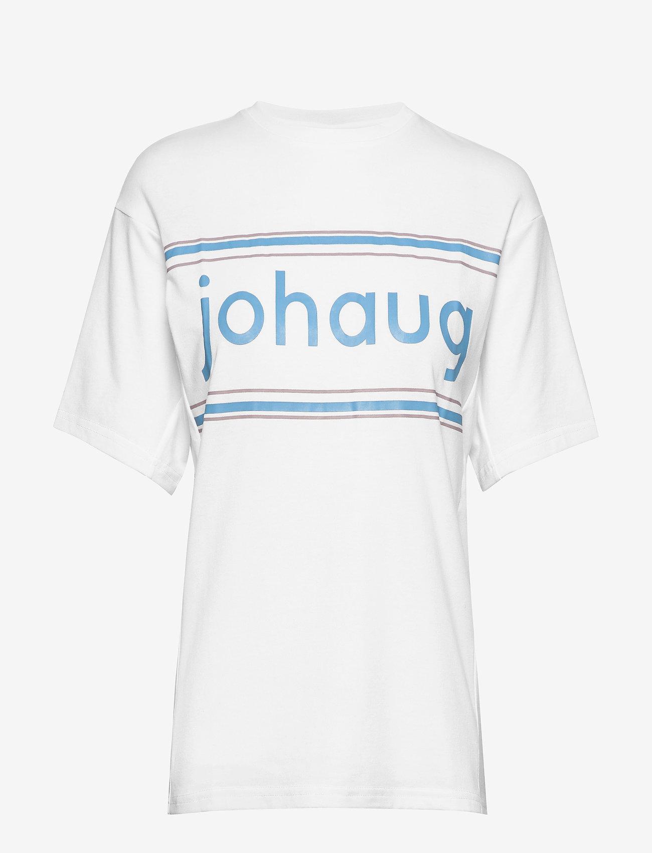 Johaug - Active Tee 2.0 - t-shirts - white - 1