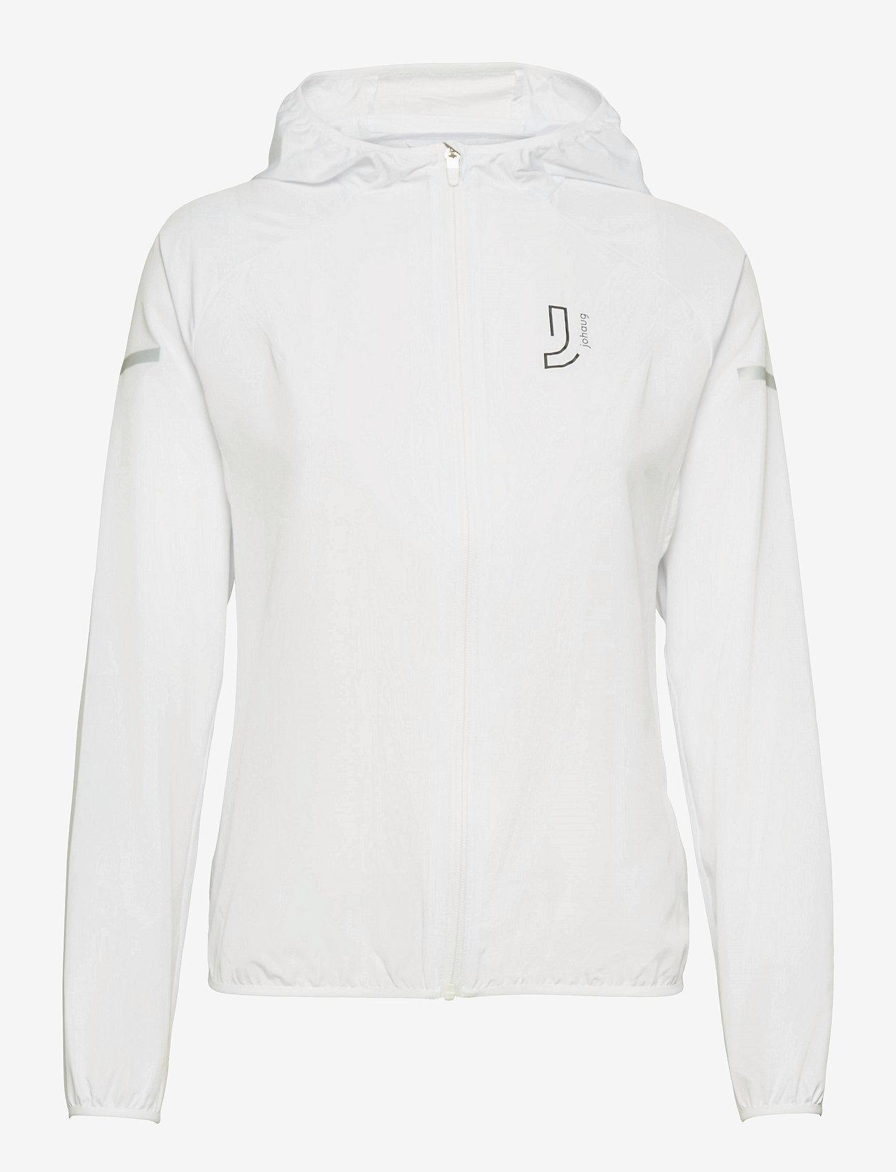 Johaug - Windguard Jacket - sportjackor - white - 0