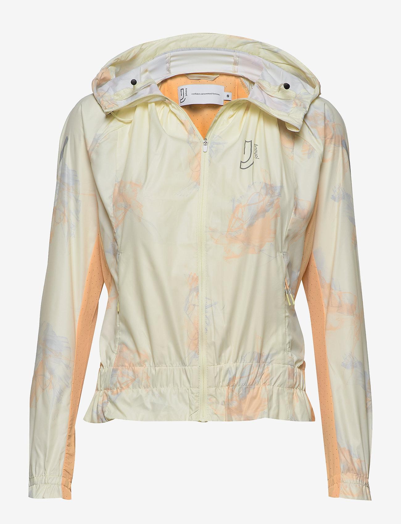 Johaug - Breeze jacket - träningsjackor - pyrus - 0
