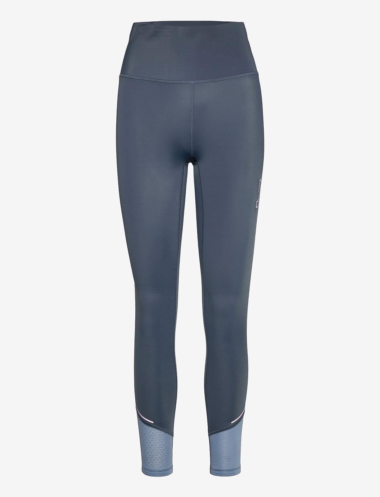 Johaug - Sheen tights - löpnings- och träningstights - mnavy - 0