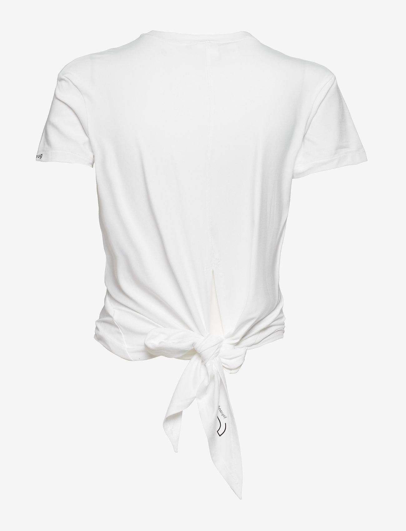 Johaug - Rupture Tee - t-shirts - white - 1