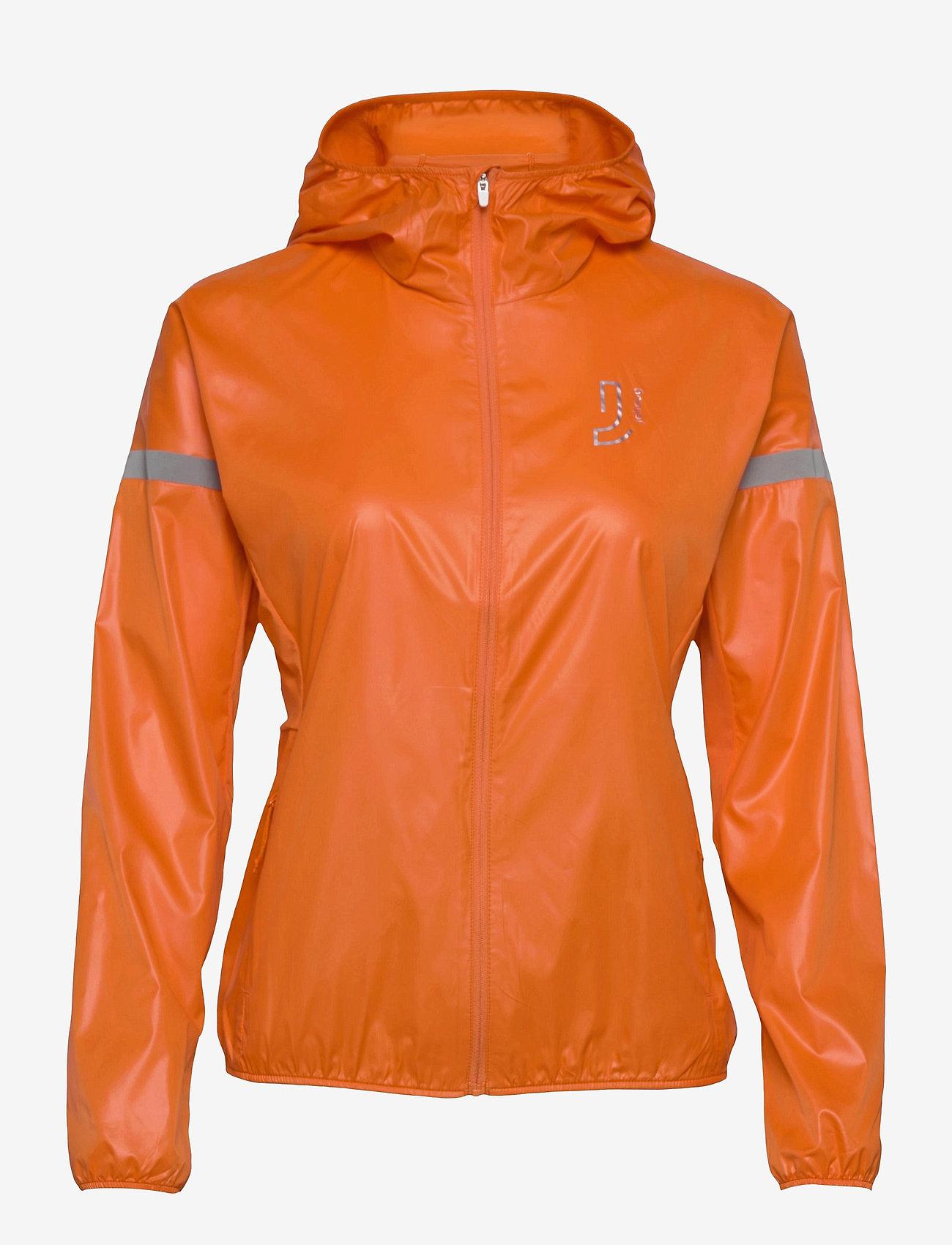 Johaug - Windy Jacket - koulutustakit - poppy - 0