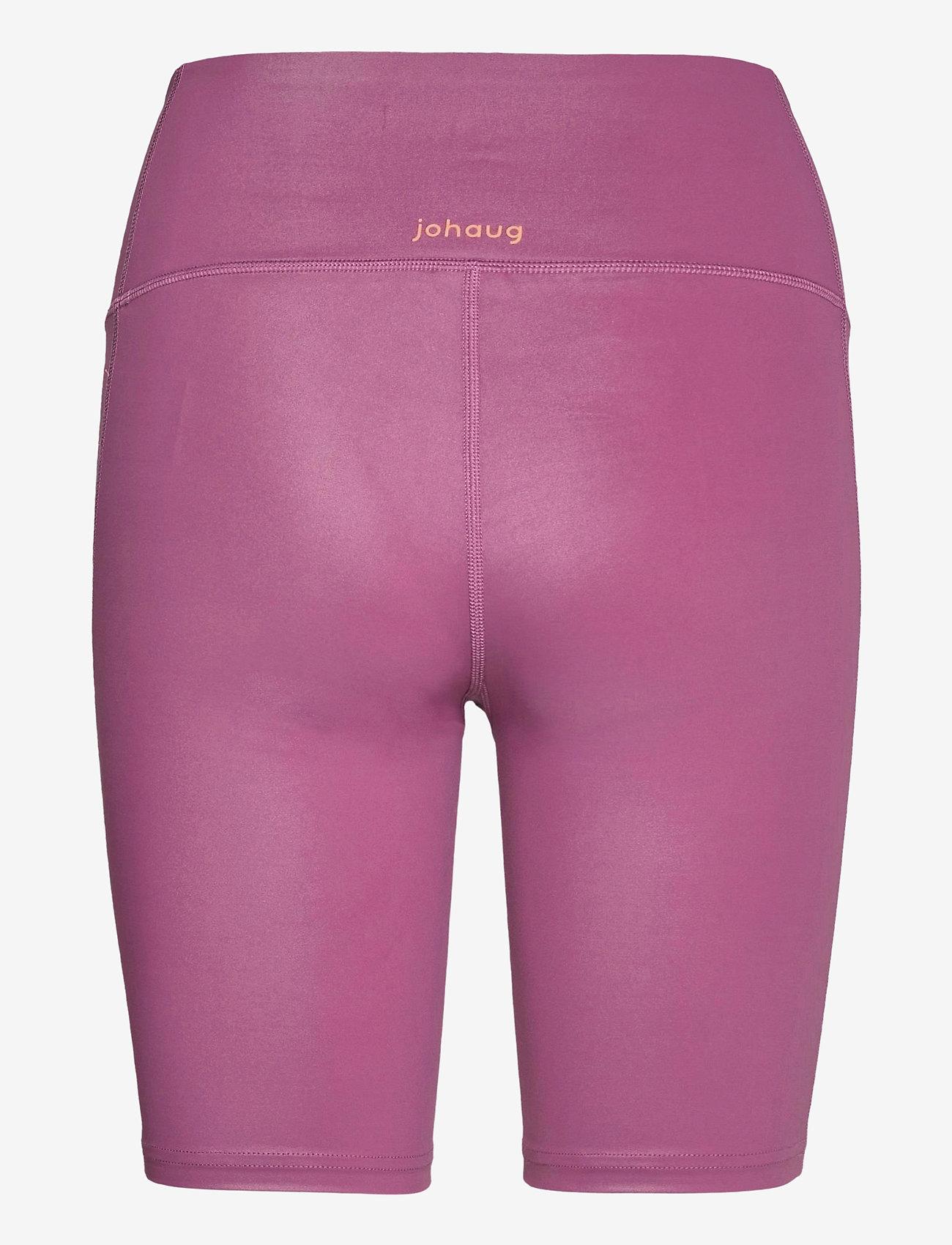 Johaug - Shimmer Tights Bikelenght - löpnings- och träningstights - amar - 1