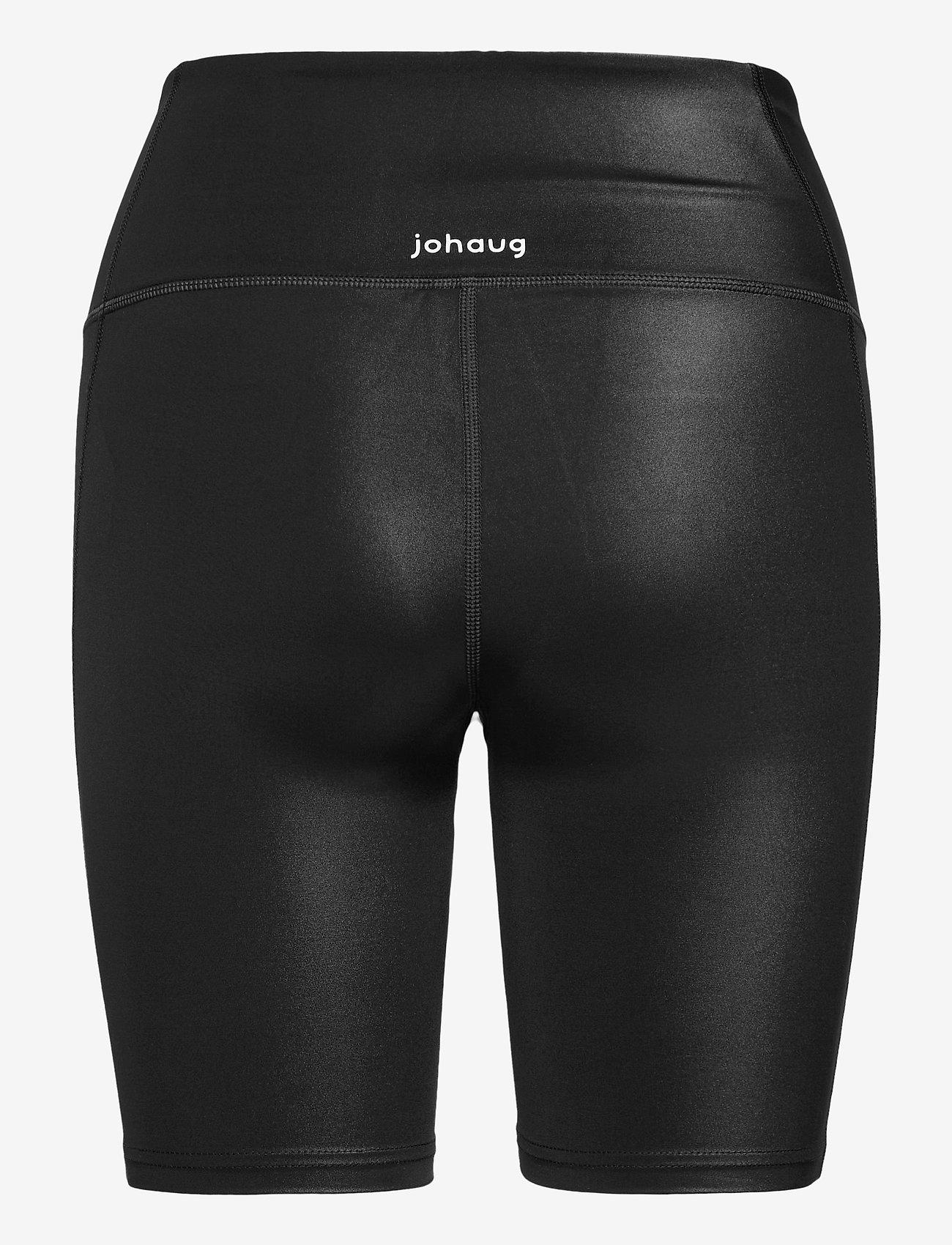 Johaug - Shimmer Tights Bikelenght - löpnings- och träningstights - tblck - 1