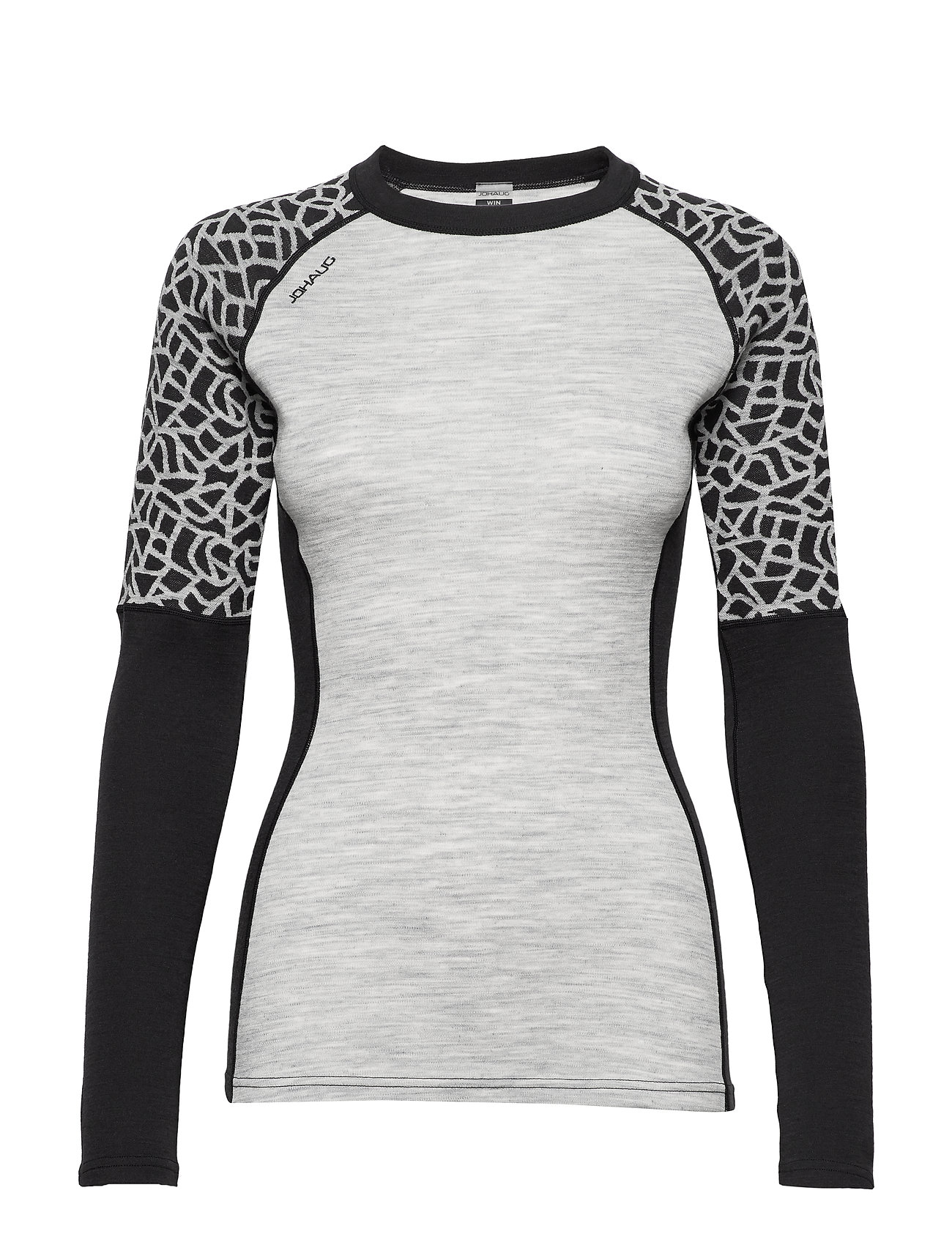 Johaug WIN WOOL LONG SLEEVE - BLACK