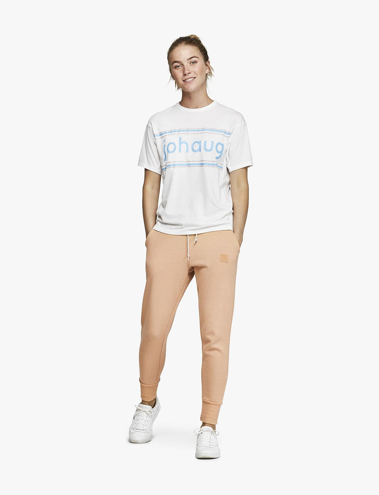 Johaug - Active Tee 2.0 - t-shirts - white - 0