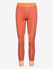 Johaug - Lithe Tech-Wool Pant - underställsbyxor - terra - 0