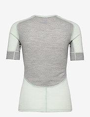 Johaug - Lithe Tech-Wool Tee - thermo ondershirts - mist - 1