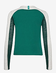 Johaug - Ace LS - långärmade tröjor - teal - 1