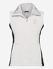 Johaug - Temping Primaloft Vest - puffer vests - white - 0