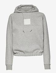 Johaug - Unaltered Hood - huvtröjor - greym - 0