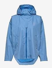 Johaug - Silhouette Poncho Jacket - sports jackets - lakeb - 1
