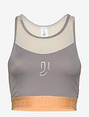 Johaug - Flex top - crop tops - ashes - 0