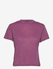 Johaug - Aerial Woolmix Tee - t-shirts - orchd - 0