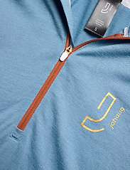 Johaug - Lithe Tech-Wool Hood - base layer tops - blues - 2