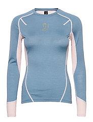 Lithe Tech-Wool Long Sleeve - BLUES