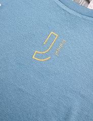 Johaug - Lithe Tech-Wool Long Sleeve - thermo ondershirts - blues - 2