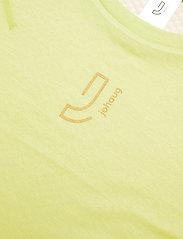 Johaug - Lithe Tech-Wool Long Sleeve - underställströjor - lime - 2