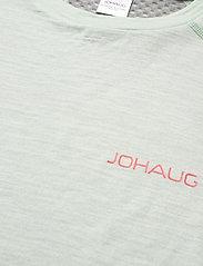 Johaug - Lithe Tech-Wool Tee - thermo ondershirts - mist - 2