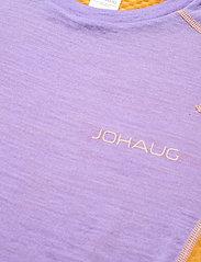 Johaug - Lithe Tech-Wool Tee - thermo ondershirts - tulip - 2